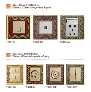 Hotel Brass Dimmer Switch with Rg Finish pictures & photos