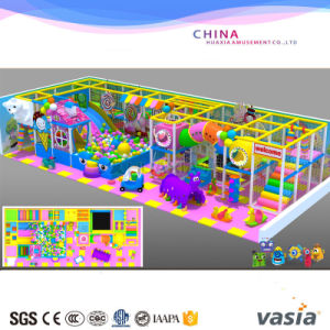 2016 Candy Theme Indoor Playground for Plastic Material Playground pictures & photos