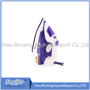 Electric Steam Iron Electric Iron Sf-9004 with Ceramic Soleplate (Purple) pictures & photos