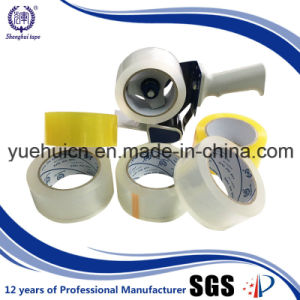 Korea Market with Water Based Yellowish Acrylic Adhesive Tape pictures & photos