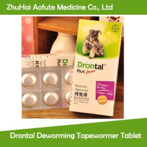 Drontal Deworming Tapewormer Tablet / Pill for Pet pictures & photos