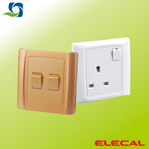 Wall Switch, Wall Socket of B Series pictures & photos