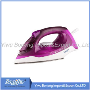 Hot-Selling Travelling Steam Iron Electric Iron Sf-9008 with Ceramic Soleplate (Purple)