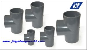 UPVC Injection 63mm Tee Mold pictures & photos
