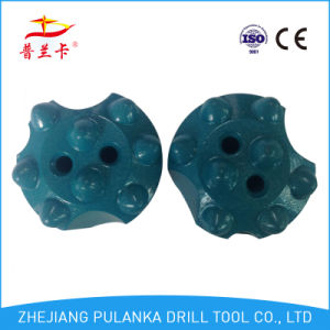 7, 8buttons 34mm Carbide Button Tapered Chisel Rock Drill Bit pictures & photos