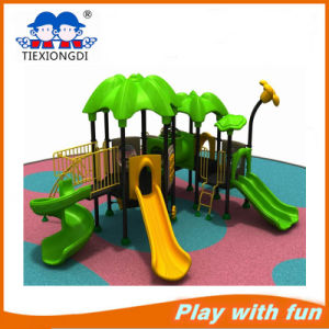 New Design Kids Plastic Sliding Outdoor Playground pictures & photos