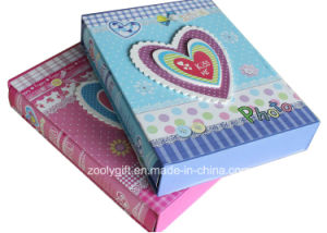 Customized Printed Baby Girl / Boy Paper Photo Album with Box Holder pictures & photos