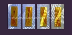 Yellow&Silver Metal Wall Art / Metal Craft for Decor pictures & photos