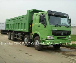 Sinotruck HOWO 420HP 60t 8*4 Dump Truck pictures & photos