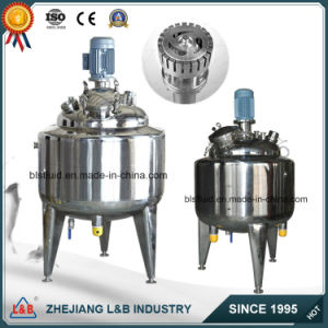 Stainless Steel Electric Jacketed Vacuum Emulsifying Mixer pictures & photos