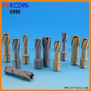 HSS Core Drill with Weldon Shank Version P pictures & photos