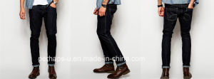 Cool Trendsetter Mens Denim Black Jeans pictures & photos