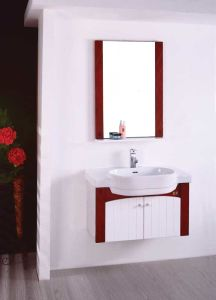 Sanitaryware Wood Vanity Bathroom Vanity W-002