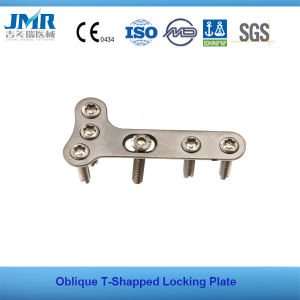 Sloping T-Shaped Locking Plates (Left And Right Type) pictures & photos