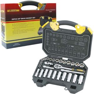 "29PCS Professional Maintenance Cr-V Matte Finished 3/8"" Drive Socket Set pictures & photos"
