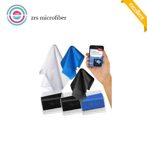 Custom Silk Screen Printing Microfiber Cloth Manufacturer pictures & photos