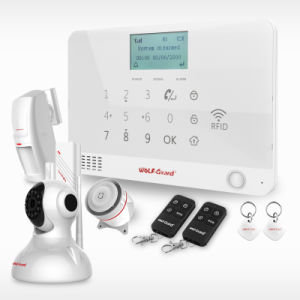 New Wolf-Guard Wireless Home Security Alarm System with RFID Card for Arm/Disarm Yl-007mr1 pictures & photos