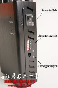 Portable Hand-Held Cell Phone Signal Jammer pictures & photos