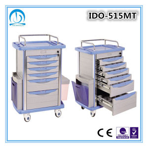 Luxurious 6 Drawers Medical Cart pictures & photos
