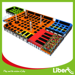 Liben Large Indoor Trampoline Court with ASTM Certificate pictures & photos