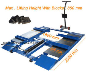 Factory Price Ce Certificated Lifting Machine Scissor Car Lift Lxs-6000 pictures & photos