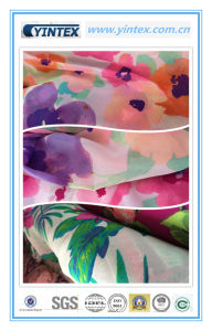 100% Poly Flat Ggt Printed Fabric pictures & photos