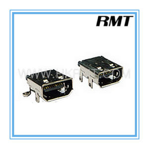 HDMI 19p D Type Female Connector (RMT-160325-038) pictures & photos