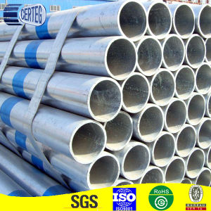 Hot dipped galvanized round pipe pictures & photos
