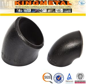 A234 Wpb 45D Carbon Steel Long Radius Elbow Pipe Fittings Price pictures & photos