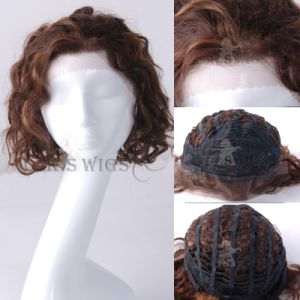 Particular Lace Front Wig 100% Natural Hair Wig pictures & photos