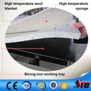 CE Automatic Pneumatic Large Format Double Stations T Shirt Sublimation Heat Press Machine pictures & photos