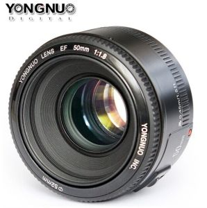 Yongnuo Yn 50mm F1.8 Large Aperture Auto Focus Lens for Canon Ef EOS Camera pictures & photos