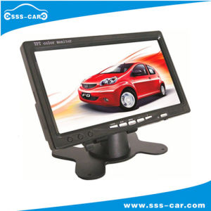 7 Inch TFT LCD Color Monitor with 2 Video Inputs
