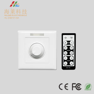 12-24V DC 86 Style 6A*1channel LED PWM Dimmer pictures & photos