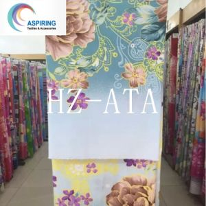 100%Polyester Microfiber Disperse Printed Fabric Twill for Bed Sheeting pictures & photos