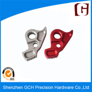 Die Cast Aluminum Alloy Housing Parts with Red Coating pictures & photos