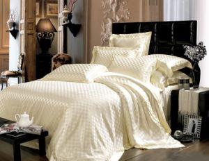 Taihu Snow Silk Hotel Quality Seamless Sheet Oeko-Tex Silk Bedding Set Bed Linen pictures & photos