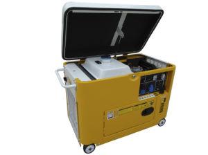 5kw Protable Silent Diesel Generator Dg6700se