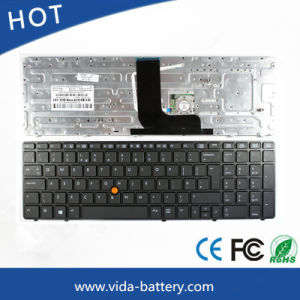 Original Laptop Keyboard/Computer Keyboard for HP 8560W UK pictures & photos