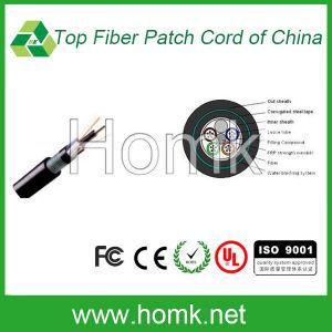 Non-Metallic Armored Sheath Outdoor Fiber Cable GYFTY53 pictures & photos