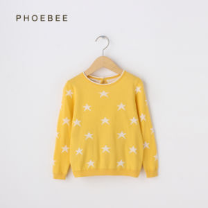 Wholesale Girls Knitted Sweater Apparel for Spring/Autumn pictures & photos