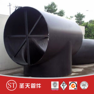 Seamless Steel Equal Tee Reducing Tee pictures & photos