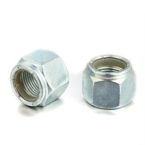 Zinc Plated High Quality Hex Nylon Insert Locking Nut