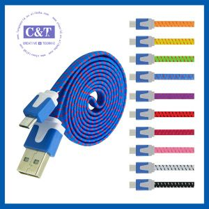 USB 2.0 Charging Cord Micro Sync Data Cable for Smartphone pictures & photos