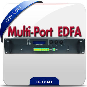 High Quality 2u Housing 8 Way Output Optical Amplifier EDFA pictures & photos