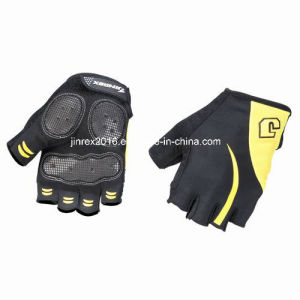 Cycling Half Finger Sports Bike Bicycle Cycle Sports Equipment Glove with Buckle Gel Padding Sports Wear Jl09c08 pictures & photos