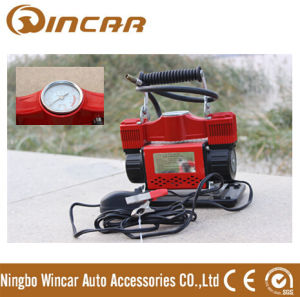 Portable Car Tyre Inflator Car Air Compressor From Ningbo Wincar pictures & photos