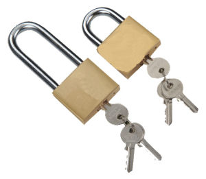 High Quanlity Different Key Europe Standard Brass Padlock pictures & photos