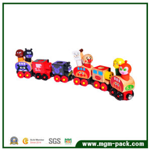 High Quality Colorful Lovely Magnetic Small Wooden Train pictures & photos