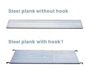 Galvanized Scaffolding Metal Plank pictures & photos